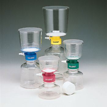 COMPLETE VACUUM FILTER UNITS: PS w/ Cellulose Nitrate : J&H