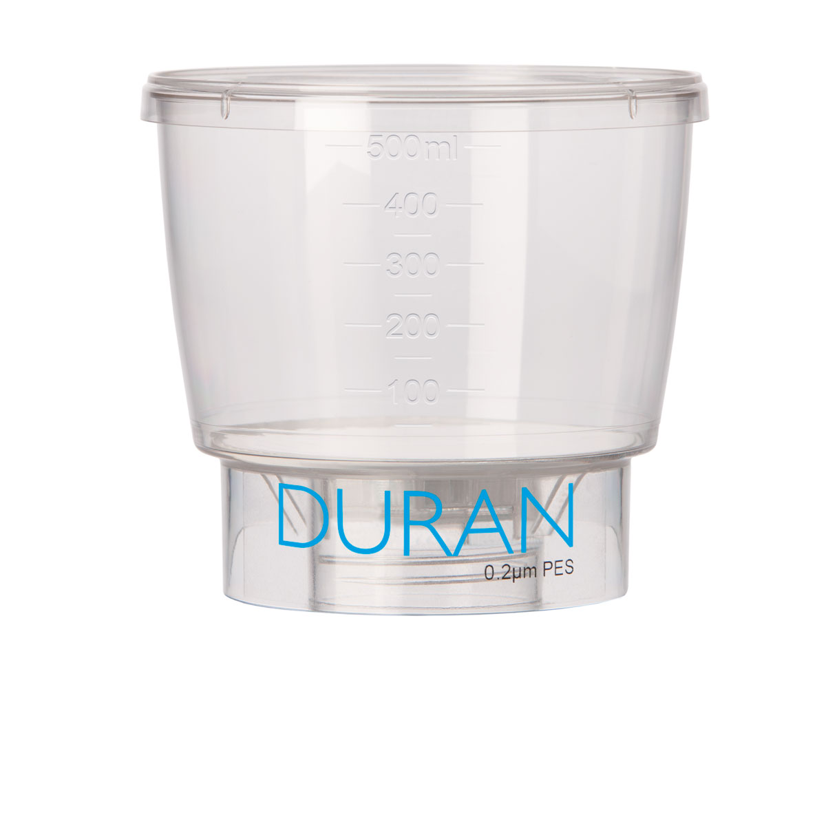 DURAN Funnel w/0.45 um PES Filter 500 ml